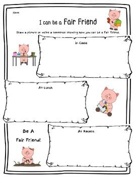 Fairness: Being a Fair Friend-Character Education