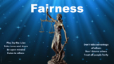 NO PREP Fairness Character Ed Lesson w 3 video links & scenarios activities PBIS