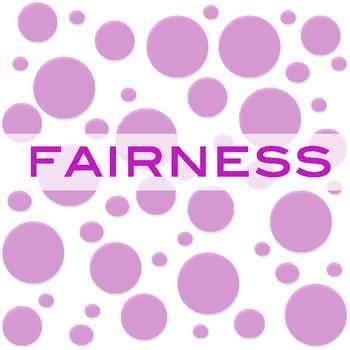 Fairness Concept Formation Lesson - Character Building for Adolescents - PBIS
