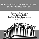Fairness & Equity in Ancient Athens - Writing Assignment