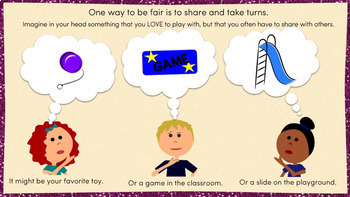 Fairness   Character Education Interactive Powerpoint