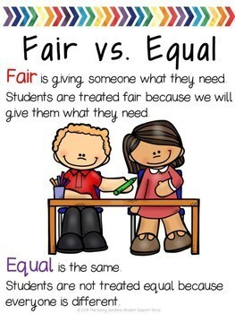 Fairness Lesson, Activity  and Discussion Guide