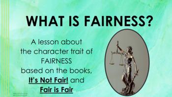 Fairness Lesson Diversity MLK PBIS w 5 video links Character Ed