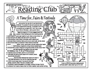 Fairs and Festivals Two-Page Activity Set