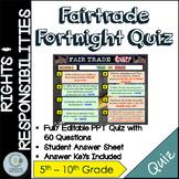 Fairtrade Fortnight Quiz