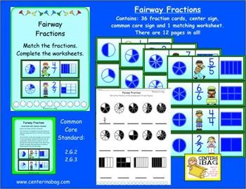 Fairway Fractions (2.G.2, 2.G.3)