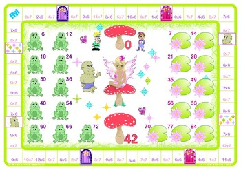 Fairy 6 and 7 Times Tables Games