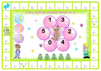 Fairy Addition Number Bonds to 5