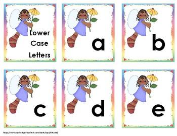 Fairy Alphabet / Letter Cards