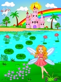 Fairy Behavior Rewards Chart for Kids