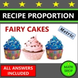 Maths – Recipe for Fairy Cakes – Proportion – Ratio - Metric
