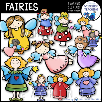 Fairy Clip Art - Whimsy Workshop Teaching