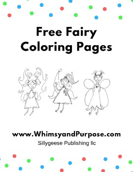 10 Free Fairy Coloring Pages