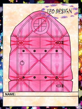 Fairy Door - Classroom Decor  - Clipart - Personal or Commercial use