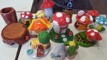 Fairy/Fantasy Houses (Ceramics Lesson)