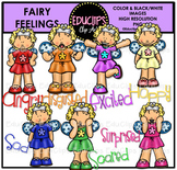 Fairy Feelings Clip Art Bundle {Educlips Clipart}