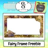 Fairy Frame Freebie