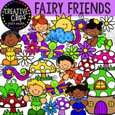 Fairy Friends: Fantasy Clipart {Creative Clips Clipart}