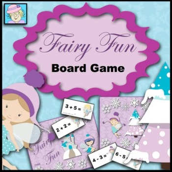 Fairy Math Game: Addition, Subtraction, and Multiplication
