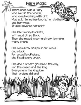 Fairy Garden Tales-Book Companion Literacy Activities {FREEBIE}
