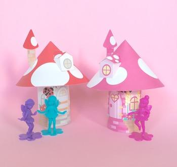 Fairy Houses Toilet Tube Printables