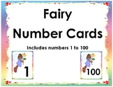 Fairy Number Cards 1 to 100