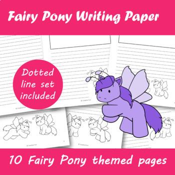 Fairy Pony Writing Paper