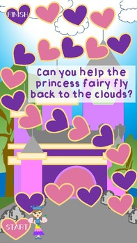 Fairy Princess Goals or Incentive Chart