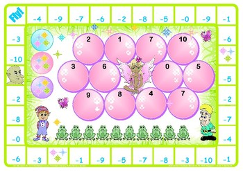 Fairy Subtraction Number Facts to 10