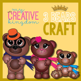 Fairy Tale 3 Bears Craft
