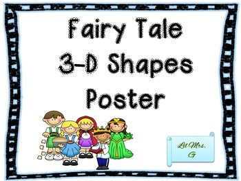 Fairy Tale 3-d Posters