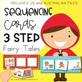 Fairy Tale 3 step sequencing picture cards / stories