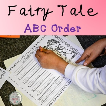Fairy Tale ABC Order