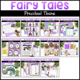 Fairy Tale Activities Bundle | Math Centers, Literacy Cent