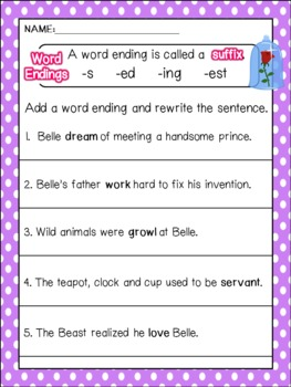 Fairy Tale Activities - Princess Pen Pals: write letters and retell stories
