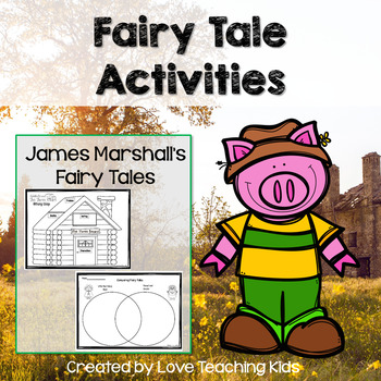 Fairy Tale Reading And Writing Activities By Love Teaching Kids