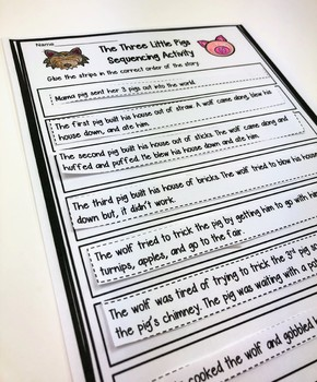 Fairy Tale Reading and Writing Activities