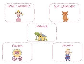 Fairy Tale Activity-Create A Story!