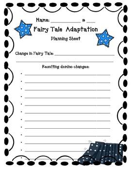 Fairy Tale Adaptation Planning Sheet