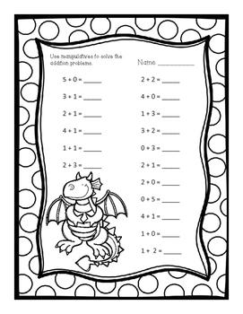 Kindergarten Fairy Tale Addition