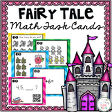 Fairy Tale Math Task Cards [Kindergarten Bundle]