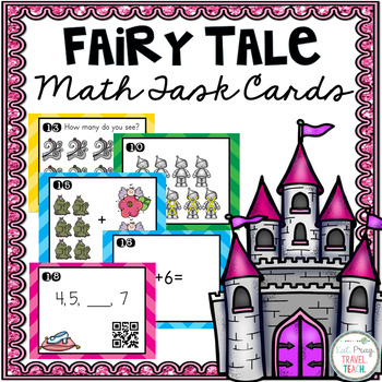 Fairy Tale Addition Scoot Game