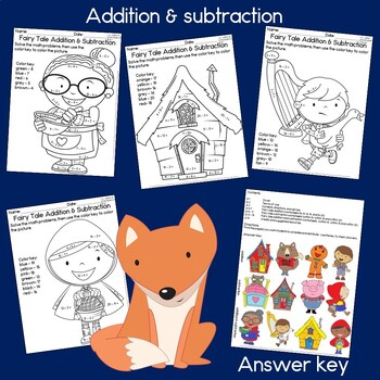 Fairy Tale Addition and Subtraction within 20