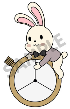 Fairy Tale : Alice in Wonderland Spinners Clip Art 2