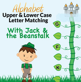 Fairy Tale Alphabet Letter Matching with Jack and the Beanstalk
