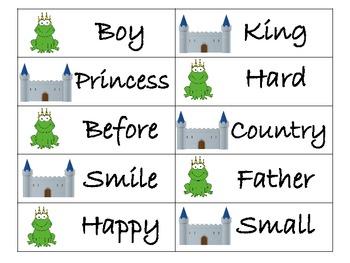 Fairy Tale Antonyms