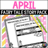 Fairy Tale April Sunshine, Classical Music Listening Sheets