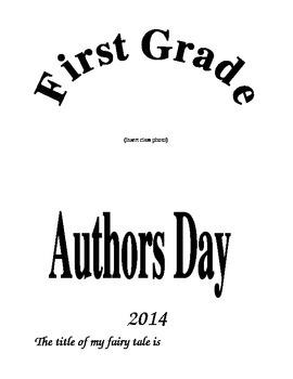 Fairy Tale Author's Day