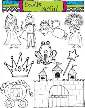 Fairy Tale BLACK & WHITE Set