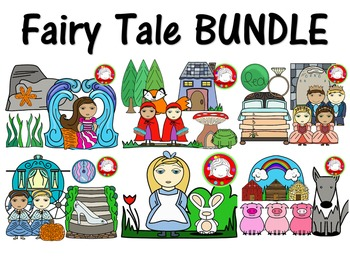 Fairy Tale BUNDLE  {150+ CLIPS} (Personal & Commercial Use)